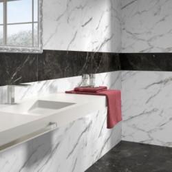 Carreau-imitation-marbre-blanc-mat-veine-grise-49.1x98.2-venezia-blanco-aux-murs-salle-de-bains