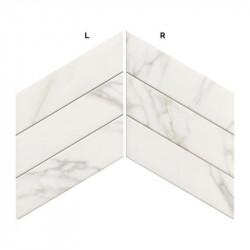 Carrelage-aspect-marbre-statuario-chevron-70x40-Diamond