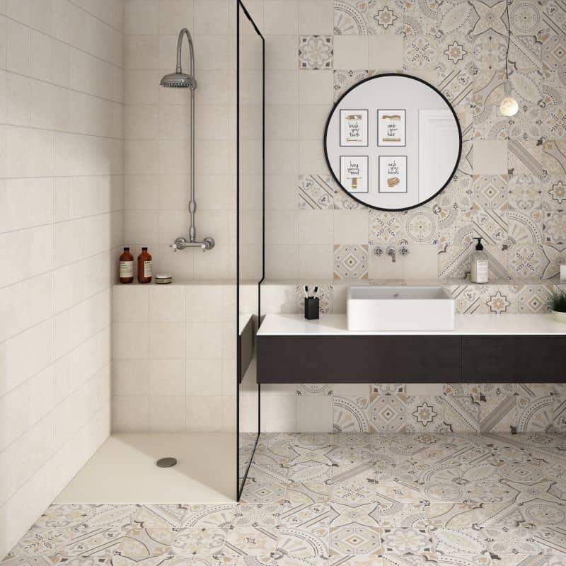 salle-d-eau-contemporaine-carrelage-mur-et-sol-imitation-granito-20x20-cm-Micro-bone