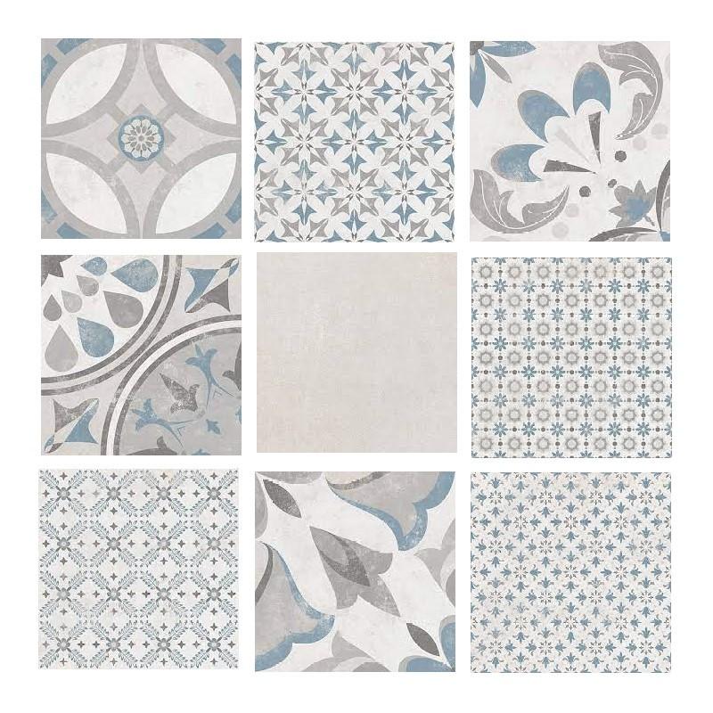 carrelage-carreau-ciment-patchwork-223x223-motif-bleu-Urban-mix