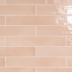 Carrelage zelliges 6.5x40 Manacor blush pink