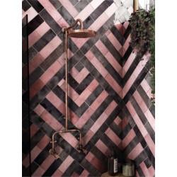 carrelage-salle-de-bains-esprit-zellige-artisan-rose-mallow-65x200-mm