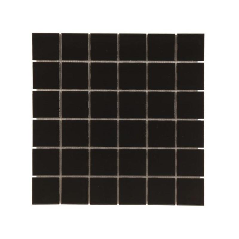 carrelage-mosaique-CE-SI-5x5-lava-noir-brillant-en-gres-cerame
