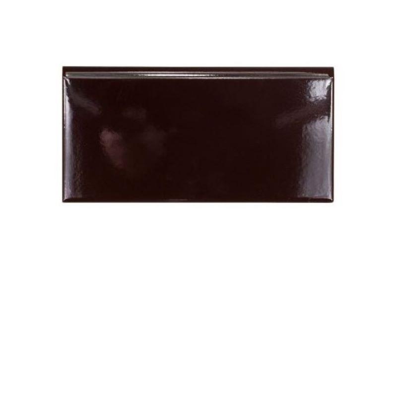 plinthe-ceramique-10x20-marron-foncé-brillante