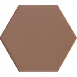 carrelage-hexagonal-tomette-marron-terre-cuite-116x101-mm-pour sol-et-mur