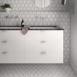 carrelage-hexagonal-blanc-kromatika-white-blanc-mat-116x101-mm-pour sol-et-mur-salle-de-bains