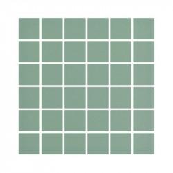 carrelage-5x5-Aloe-vert-mat-en-gres-cerame-emaille-sur-trame-de-30x30-pour-sol-et-murs