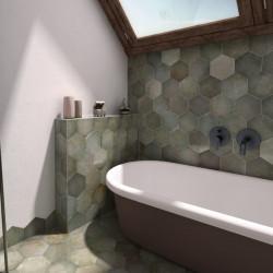 salle-de-bain-carrelage-hexagonal-tomette-heritage-jungle-175x200-sol-et-murs