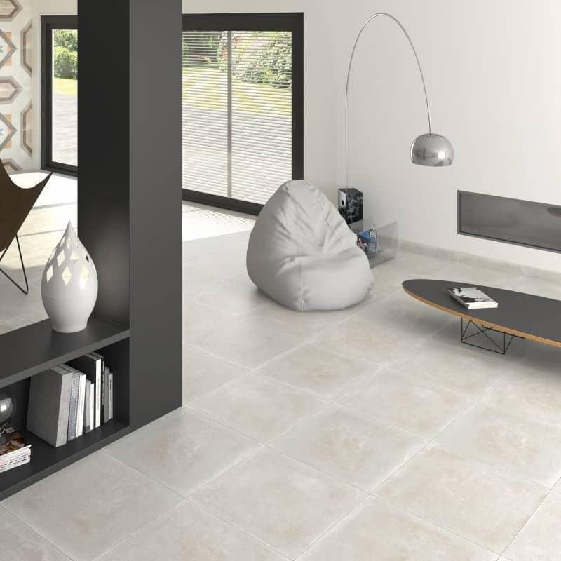 sol-sejour-contemporain-carrelage-effet-beton-blanc-59x59-tempo-bone-rectifie