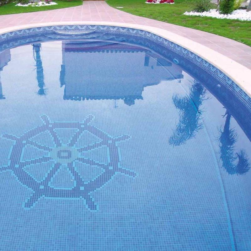 piscine-carrelage-mosaqiue-emaux-de-verre-bleu-nuagé-25x25-mm-ref-MONU2001