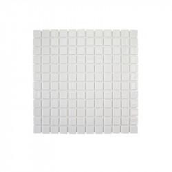 emaux-de-verre-blanc-25x25-uni-brillant-mono101GR-mosaique-antiderapante