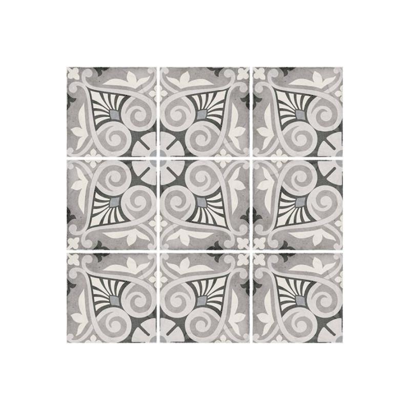 Carrelage-Imitiation-ciment-20x20-cm-art-nouveau-opera-grey