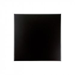 Carreaux 10x10 noir mat nero grès cérame