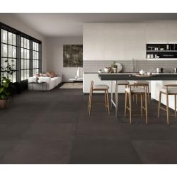 carrelagesol-contemporain-effet-beton-rectifie-60x60-comfort-R-brun-fonce-noir-nuance