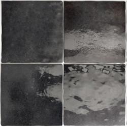 Faience zellige 13.2x13.2 Artisan graphite brillant
