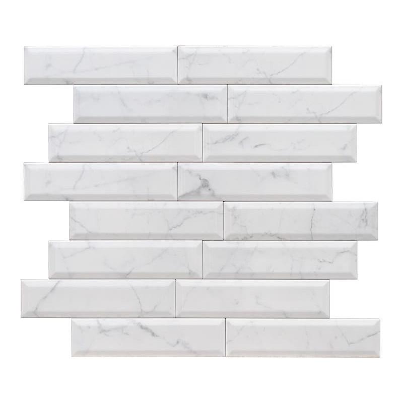 carrelage-metro-biseaute-marbre-blanc-veine-grise-75x300-mm-mat