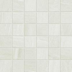 Mosaïque imitation pierre 29.6x29.6 Comfort white