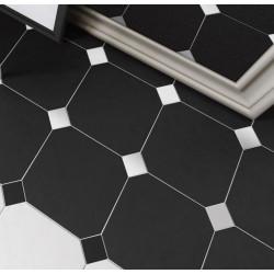 carrelage-octogonal-noir-mat-a-cabochon-blanc-mat-brillant-20x20