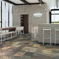 sol-restaurant-carrelage-aspect-ardoise-multicolor-31x61-colorado