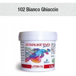 Colle et joint epoxy Starlike Evo C.102 bianco ghiaccio 2.5 kg