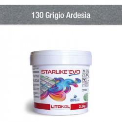 Colle et joint epoxy Starlike Evo C.130 grigio ardesia 2.5 kg