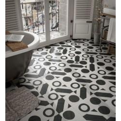 Sol-salle-de-bain-carrelage-caprice-deco-balance-20x20-noir-et-blanc-motif