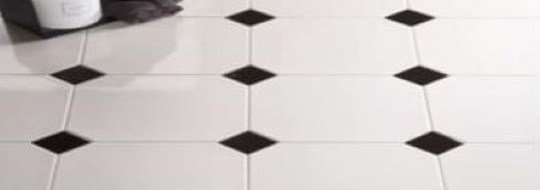Carrelage tomettes hexagones octogones et cabochons